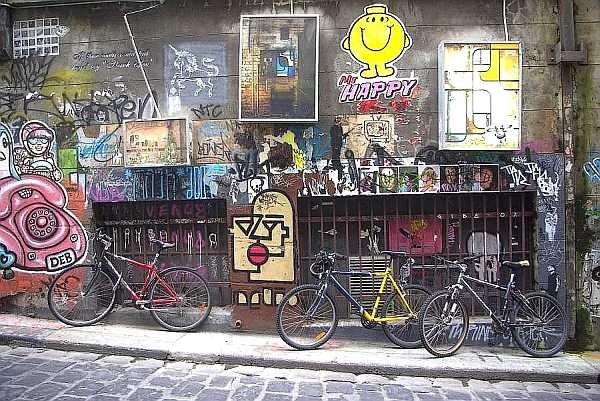 Graffiti lane - Melbourne