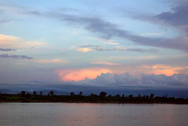Irrawaddy sunset - Burma