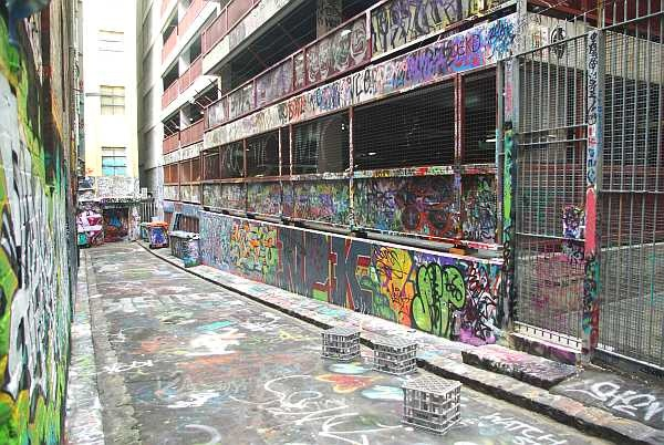 Graffiti lane - Melbourne