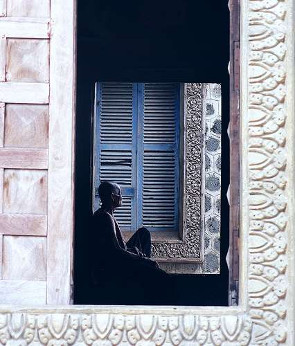 Blue shutters - Cambodia and Vietnam