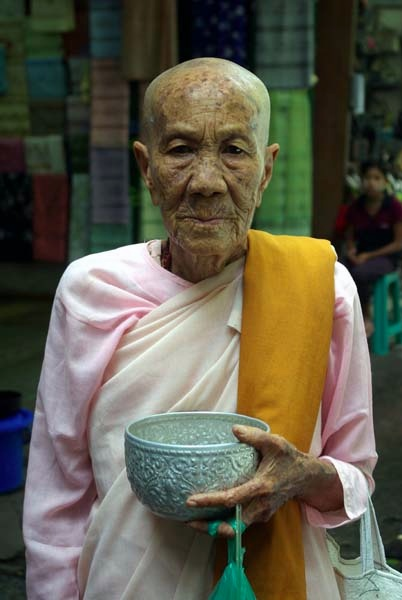 Nun, Rangoon - Burma