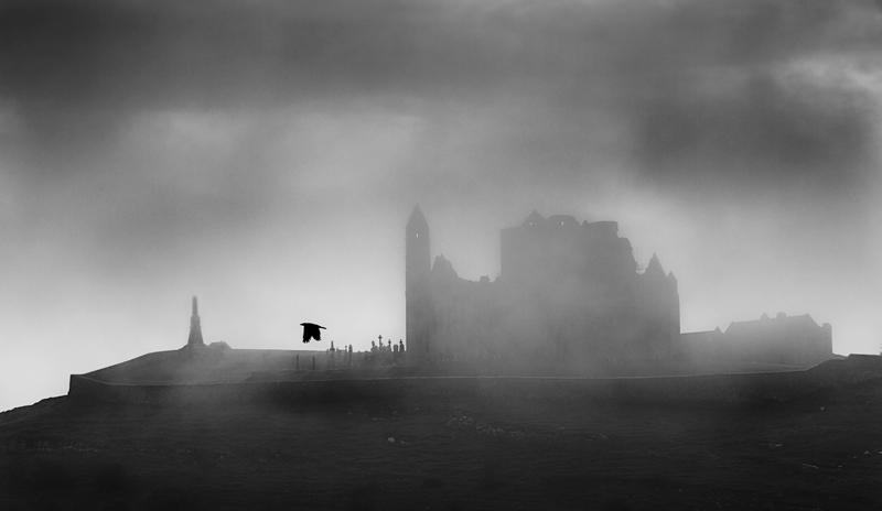 The Rock of Cashel In Fog - New Work