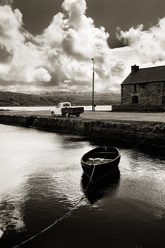 Boat and old pickup west cork - Gallery