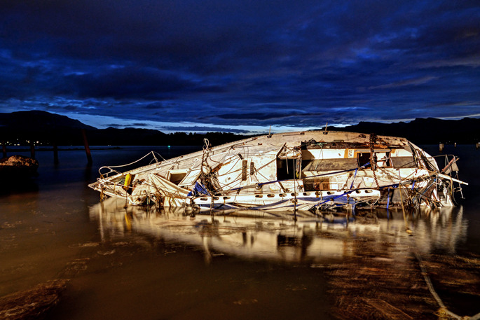 Wreckage - New Zealand