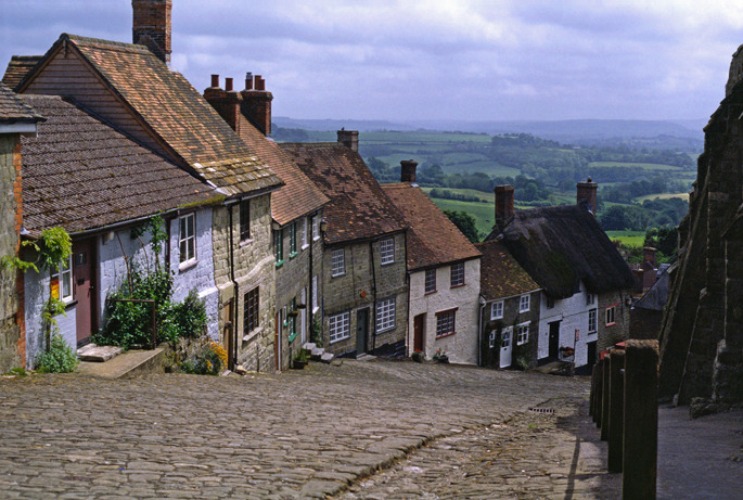 Shaftesbury Hill - Southern England