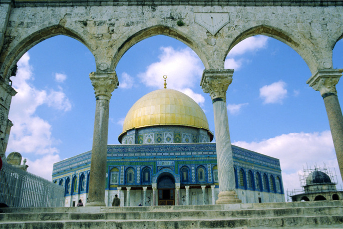 Dome of the Rock - Jordan and Israel