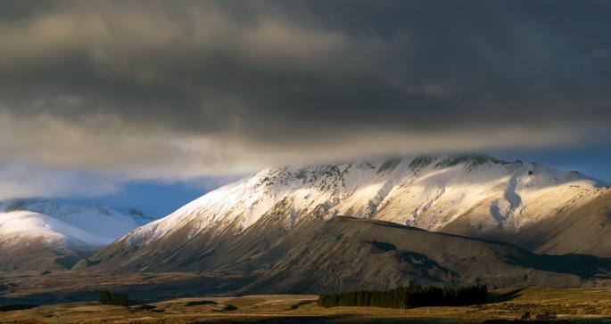 Tekapo Storm - New Zealand