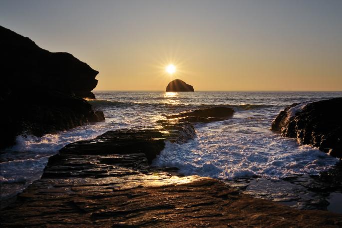 Trebarwith Strand - Cornwall
