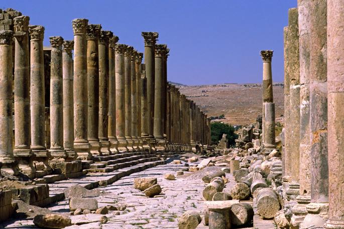 Jerash - Jordan and Israel