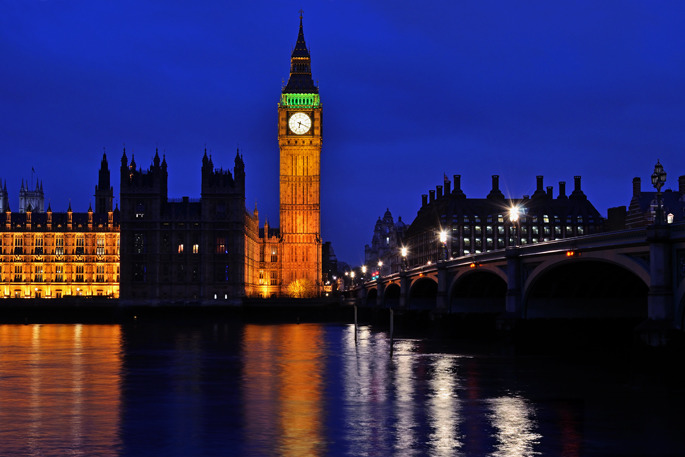 Palace of Westminster - Southern England