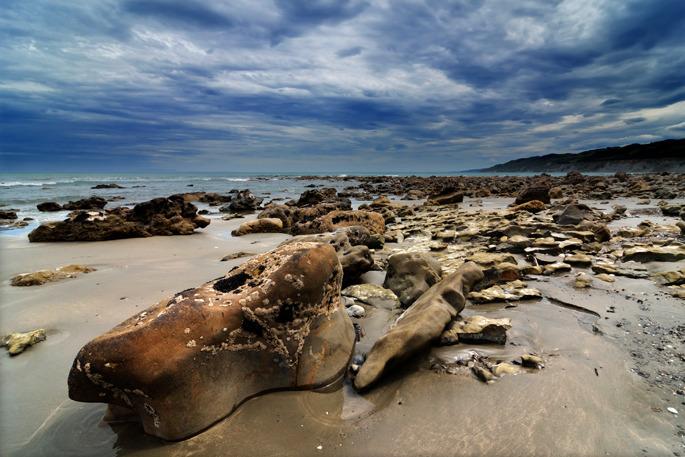 Motunau Beach - New Zealand