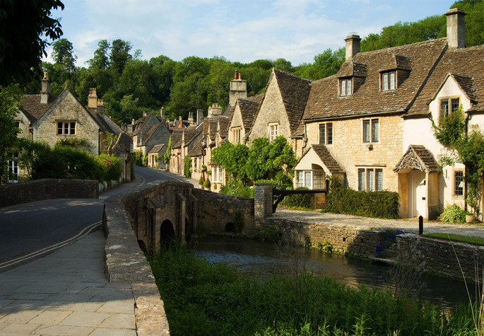 Castle Combe - Southern England