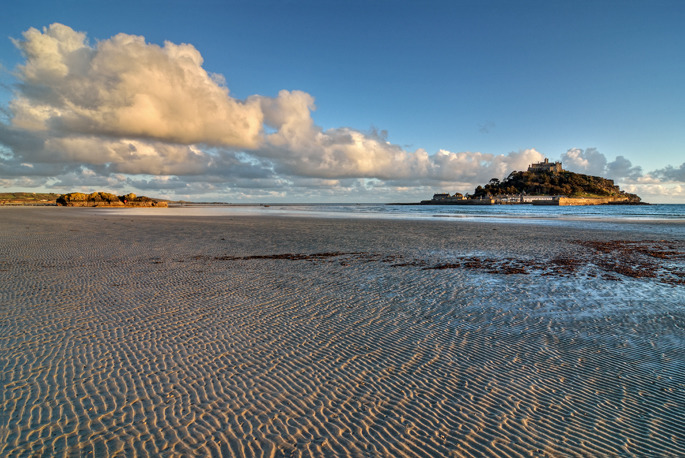 Evening Light at Marazion - Cornwall