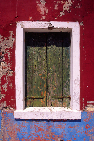 Window - Burano - Europe
