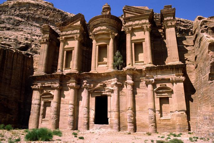 Monastery - Petra - Jordan and Israel