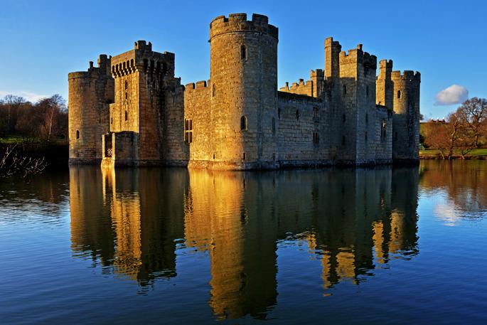 Bodiam Castle - Southern England