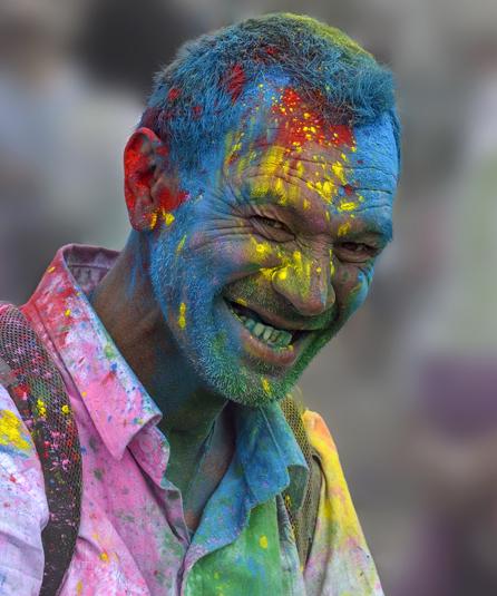 Holi Man - Portraits, Music and Events