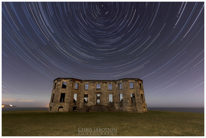 Downhill House Star Trail