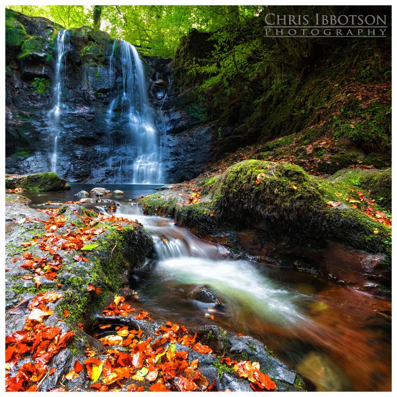 Autumn Falls, Glenariff Forest Park