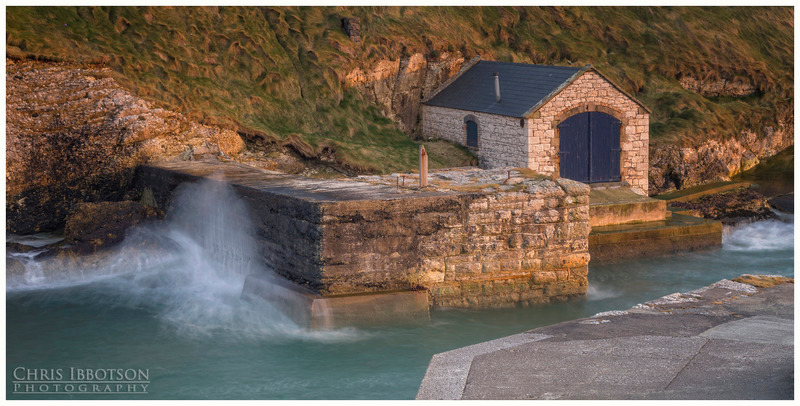 The Boathouse, Ballintoy Harbour