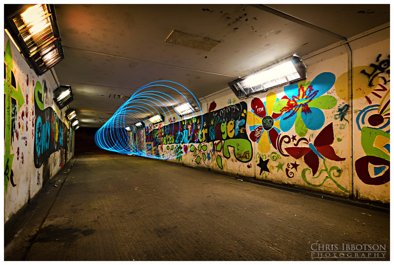 Tunnel of Light - paint by light
