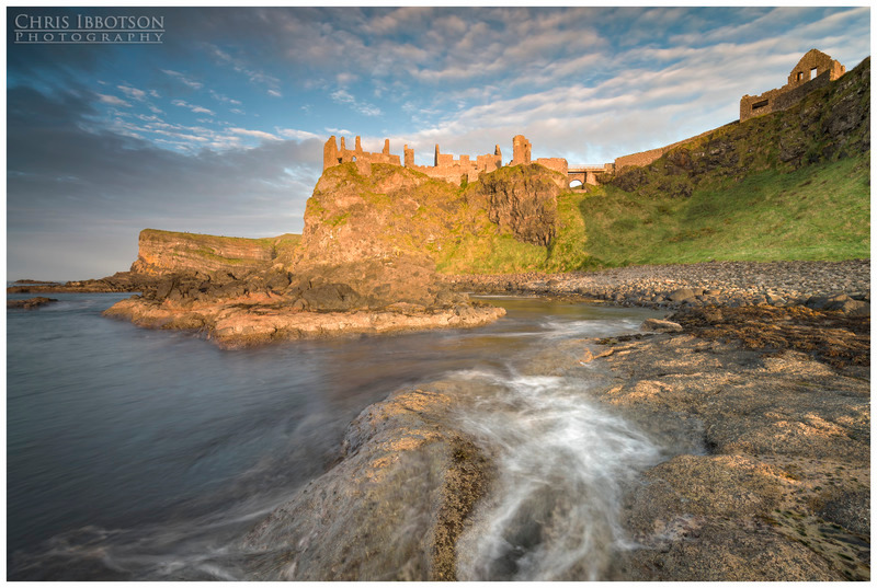 Evening Glory, Dunluce Castle