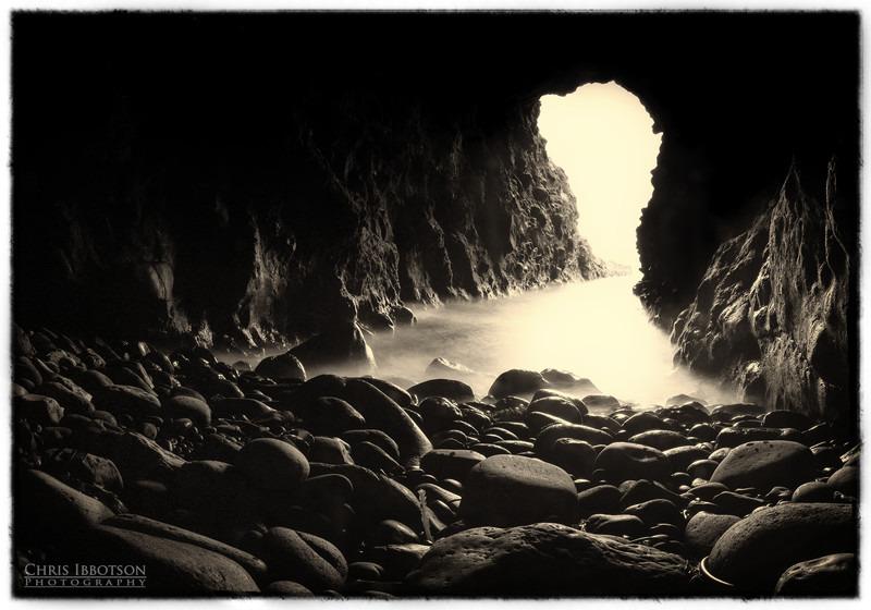 The Mermaid Cave, Dunluce Castle