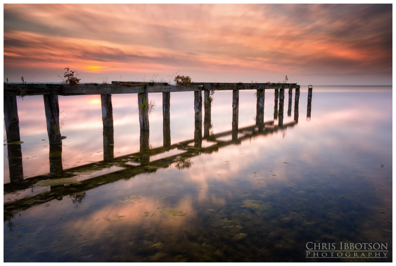 Sunset Reflections, Lough Neagh