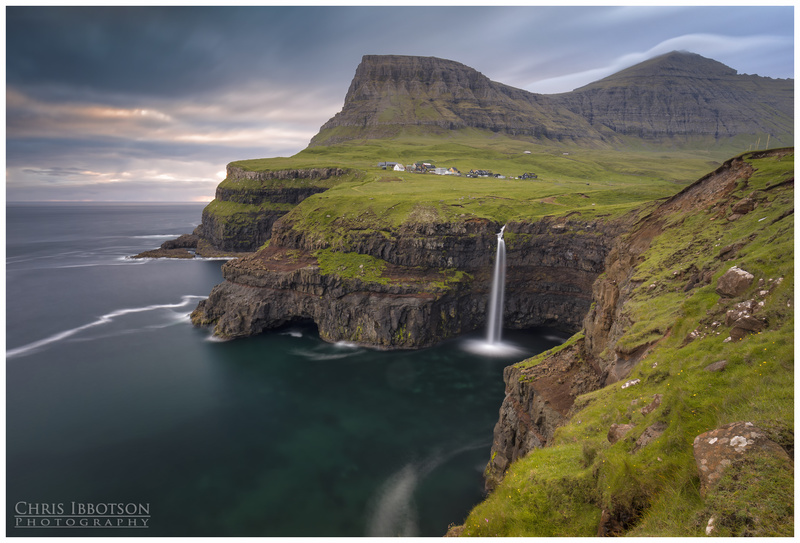 Mulafossur Waterfall, Gasadalur, Faroe Islands