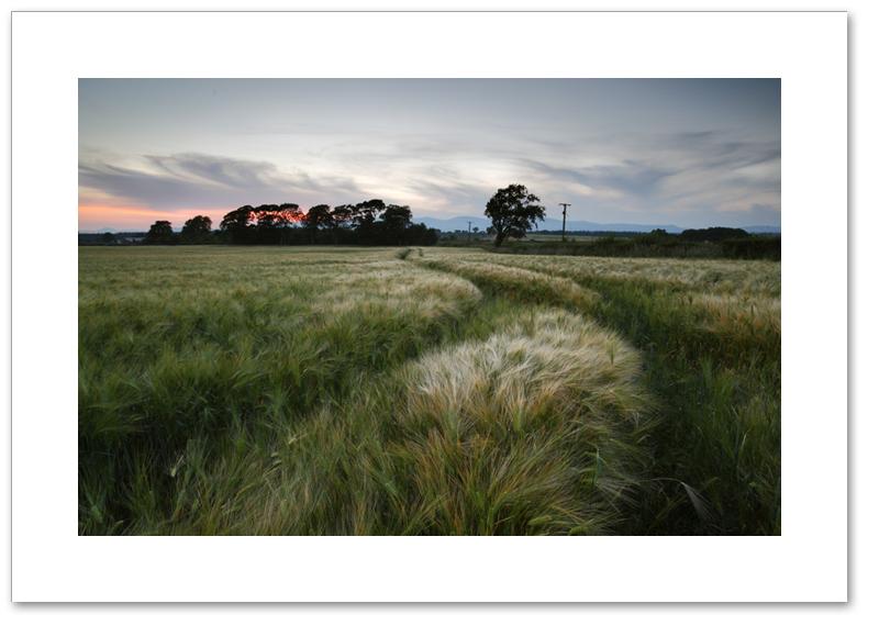 Ashes twilight, Culross, Fife