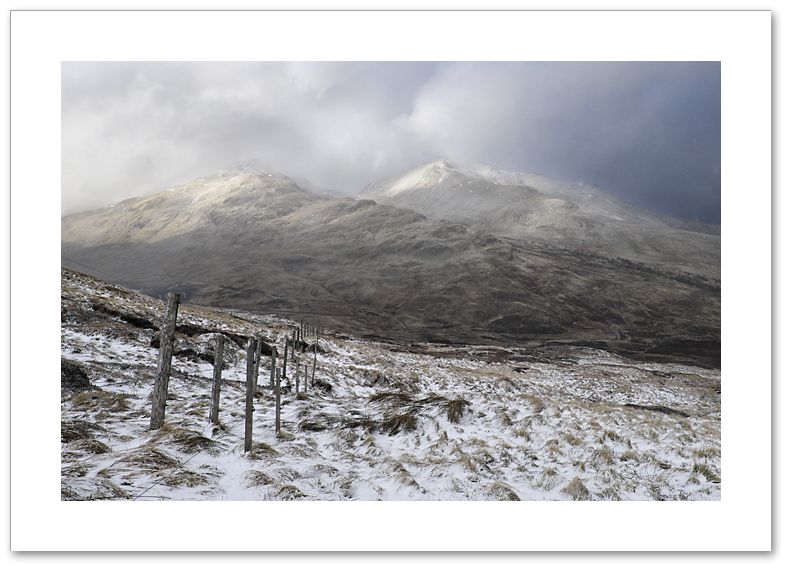 Dances with snow, Meall Corranaich & Beinn Ghlas, Lawers Range, Breadalbane