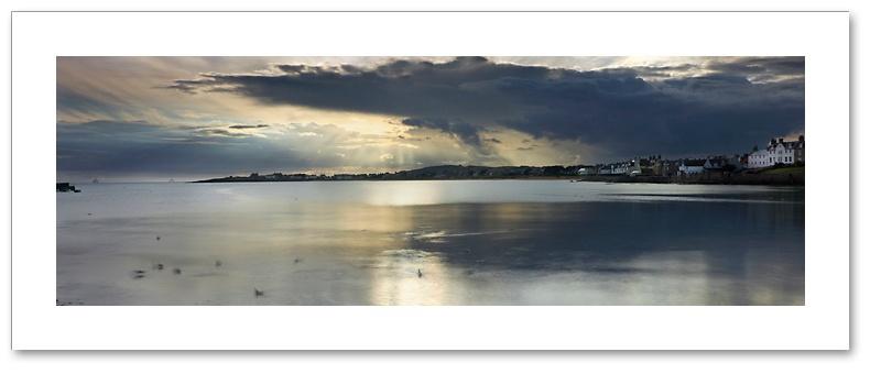 Crepuscular Rays, Earlsferry, East Neuk, Fife