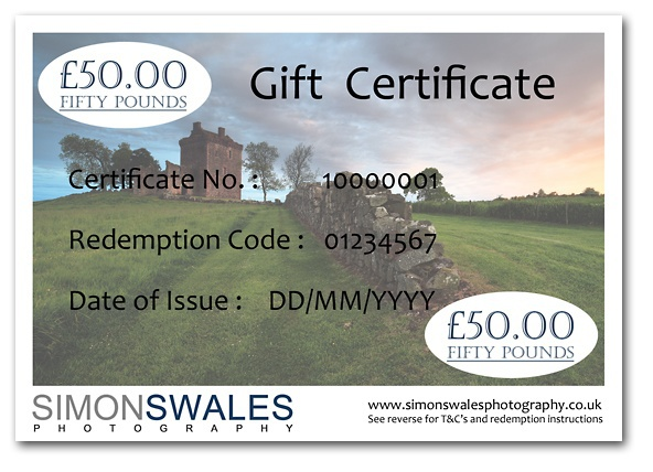 £50.00 Gift Certificate