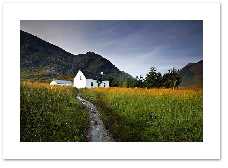 Early sun, Lagangarbh, Glen Coe, Argyll & Bute