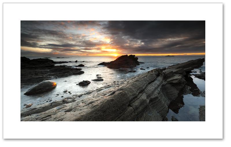 Alien sunrise, Seafield, Kirkclady, Fife