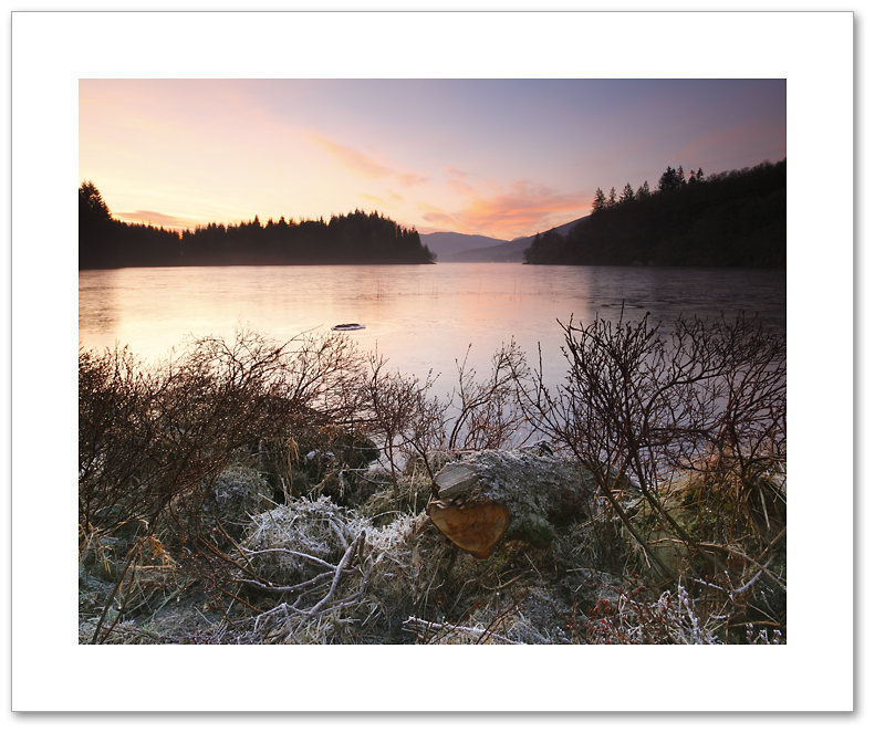 Ard winter, Loch Ard, Loch Lomond and the Trossachs National Park