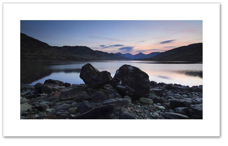 Gloaming light, Loch Arklet, Loch Lomond & the Trossachs National Park