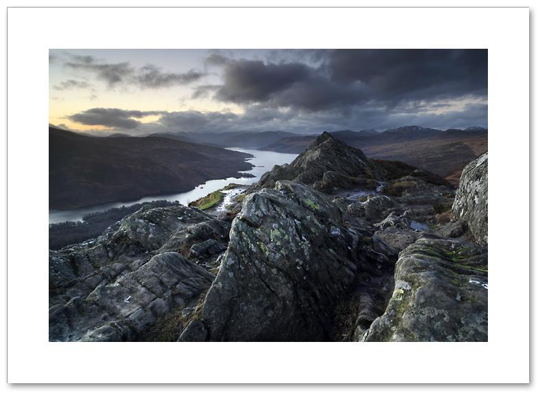 Gloaming light, Ben A'an, Loch Lomond and the Trossachs National Park