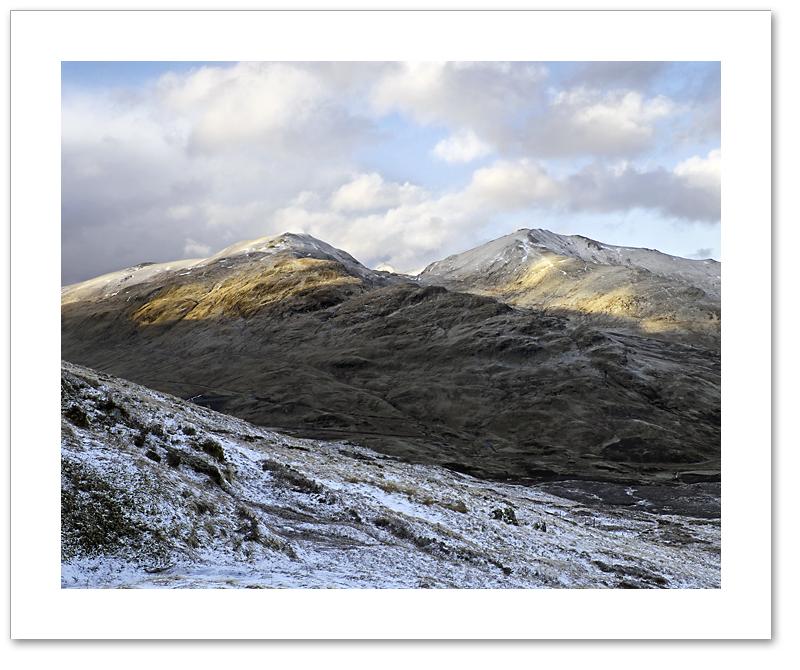 Sunlight & Snow, Meall Corranaich & Beinn Ghlas, Lawers Range, Breadalbane