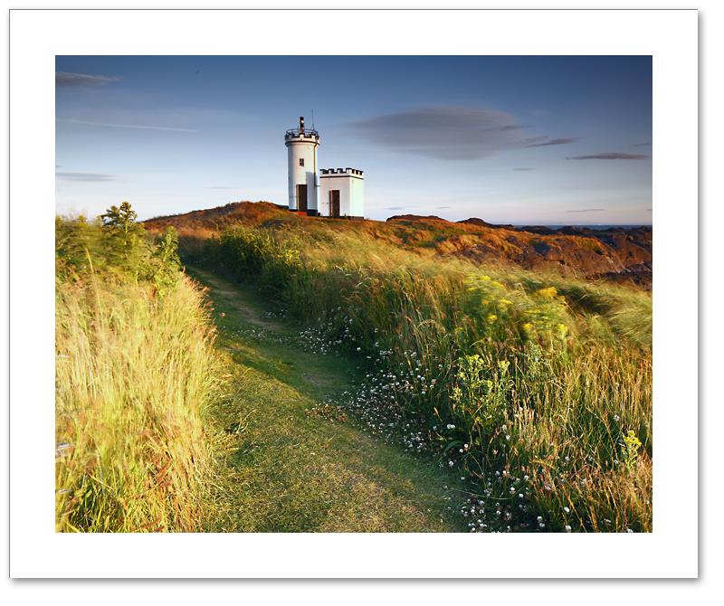 Evening light, Elie Ness, East Neuk, Fife