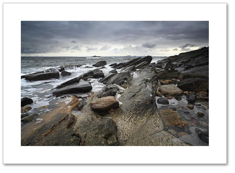 Stormy Seafield, Kirkcaldy, Fife