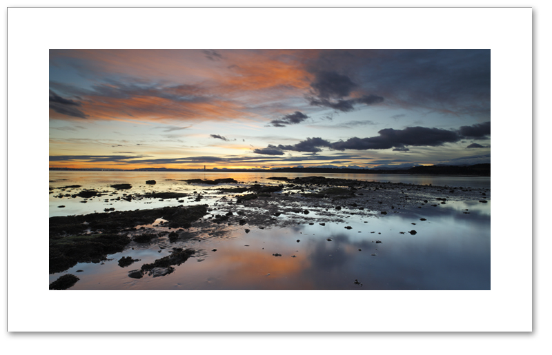 Torry Bay sunset, Crombie Point, Fife