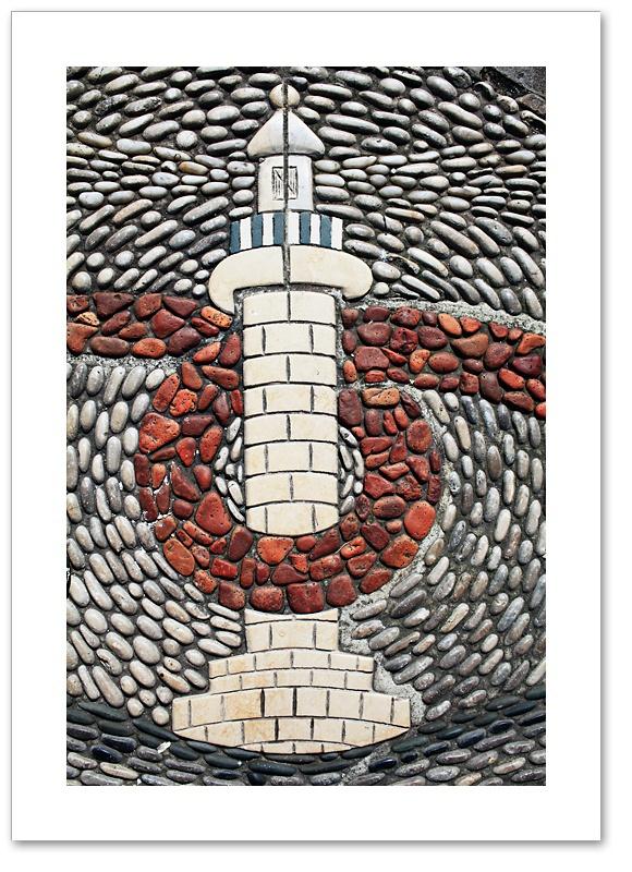Mosaic II - lighthouse Whitehaven