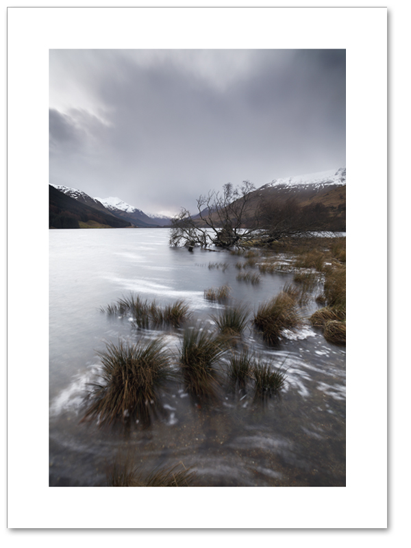 Ghostly Doine, Loch Doine, Loch Lomond and the Trossachs National Park