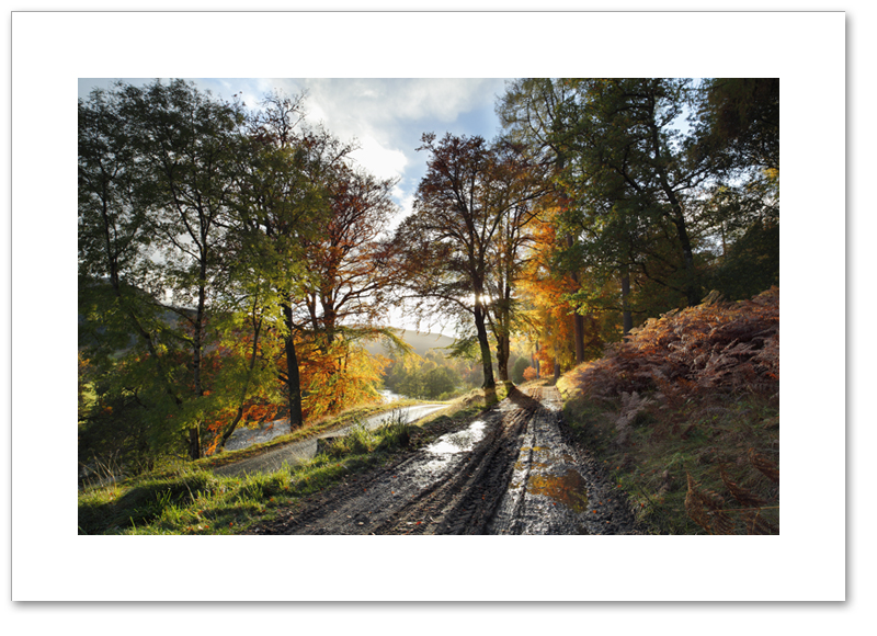 After rain, Glen Lyon, Perthshire