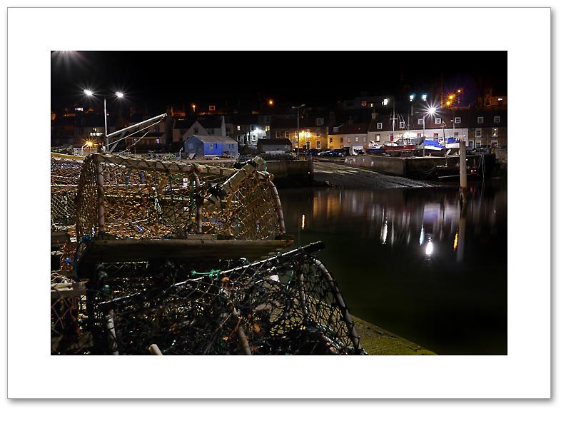 Lobster Pots, St Monans, East Neuk, Fife