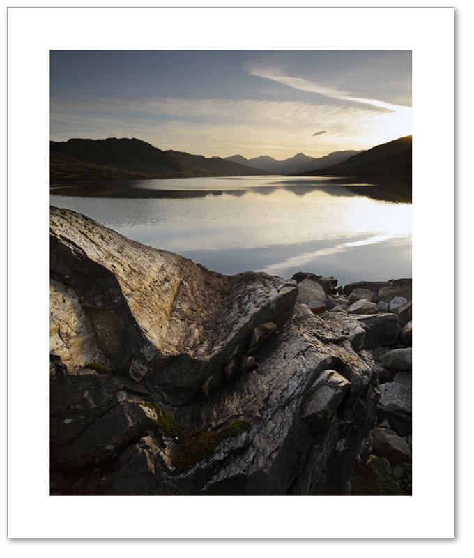 Golden light, Loch Arklet, Loch Lomond & the Trossachs National Park