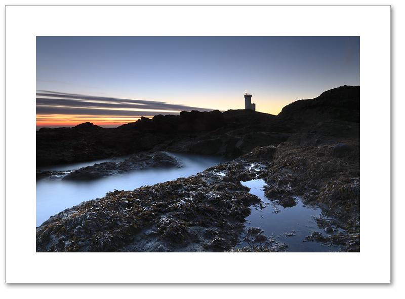 Gloaming light, Elie Ness, East Neuk, Fife