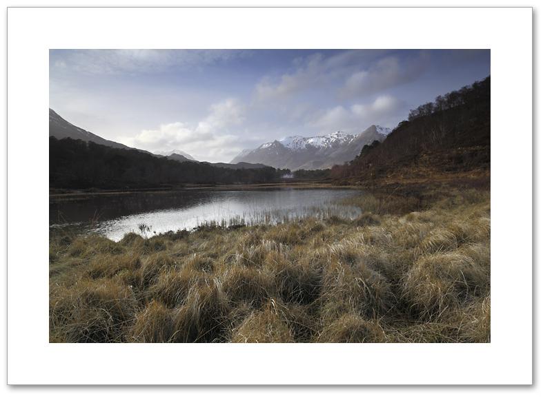 Beinn Eighe from Loch Cuilin, Torridon, Wester Ross