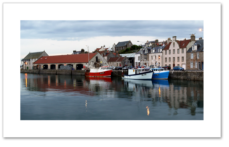 The Harbour at twilight, Pittenweem, East Neuk, Fife
